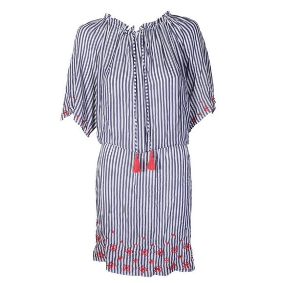 afa75f638ef Tommy Hilfiger Plus Size Navy White Striped Dress
